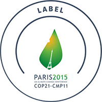 COP21 Climate Conference label