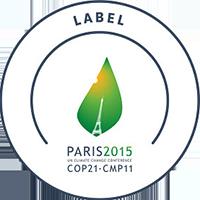 COP21 Climate Conference label